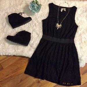 Mimi Chica Lace Shift Dress